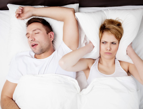 Snoring got you down (or rather, up all night) ?