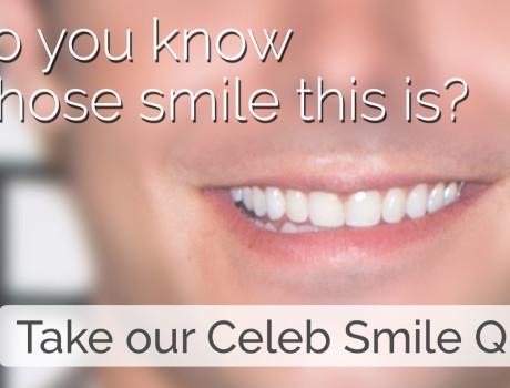 Celeb Smile Quiz